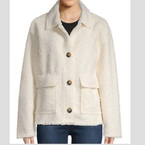 Ssnctuary front button sherpa jacket